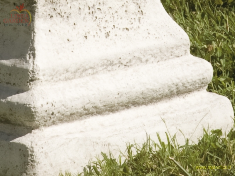 Obelisco in cemento e polvere di marmo arredo giardino for Arredo giardino vendita on line