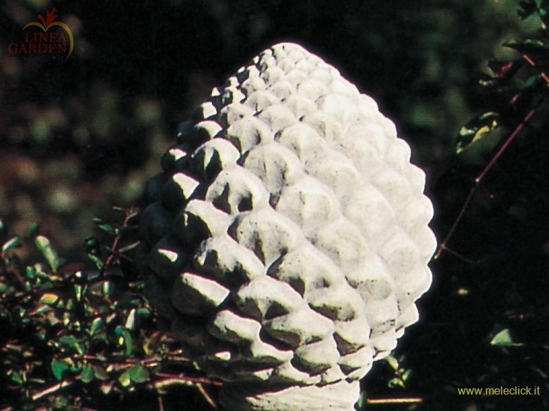 Pigna media cm 47 in pietra ricostituita arredo giardino for Arredo giardino vendita on line