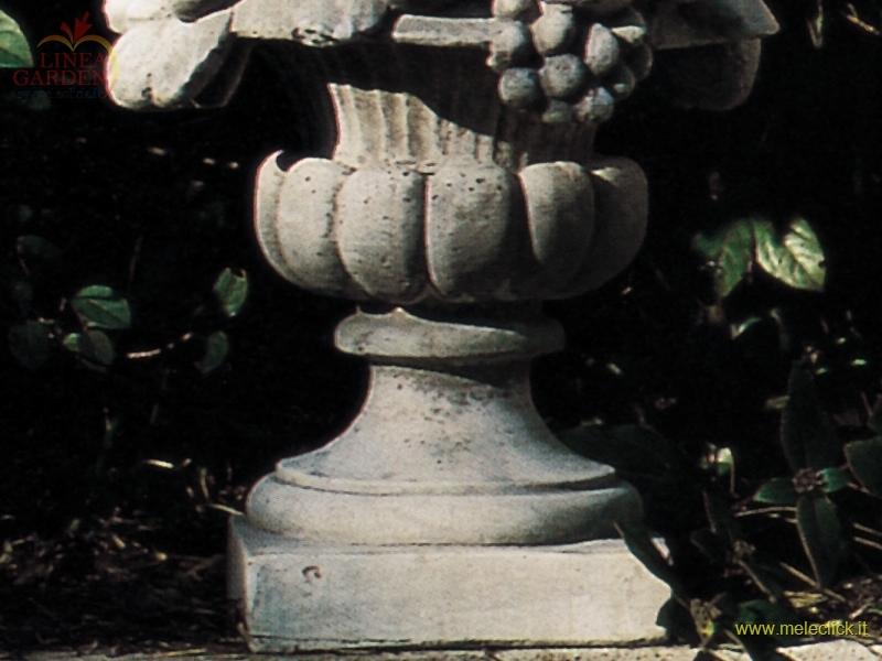 Cesto frutta medio cm 60 in pietra ricostituita arredo for Arredo giardino vendita on line